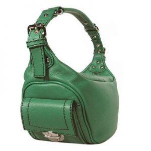 Green clothes shoes accessories - myLusciousLife.com - marc jacobs green hobo.jpg