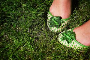 Green clothes shoes accessories - myLusciousLife.com - shoes.jpg