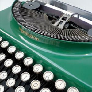 Green colours emerald teal pale lime kelly - myLusciousLife.com - vintage remington typewriter.jpg