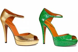Green gold shoes and accessories - myLusciousLife.com - Gucci Spring 2012 Shoe Collection.jpg