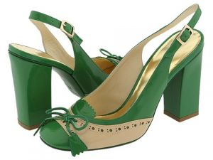 Green shoes and accessories - myLusciousLife.com - Marc by Marc Jacobs - green heels.jpg