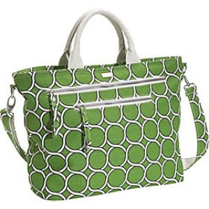 Green shoes and accessories - myLusciousLife.com - Saltbox Green GEO Tote.jpg