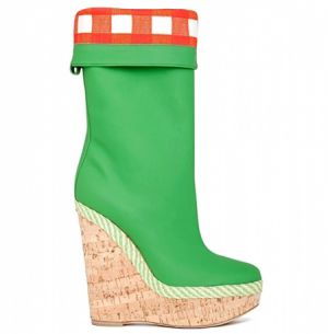 Green shoes and accessories - myLusciousLife.com - dg-shoes-accessories-spring-summer-2011 boot.jpg