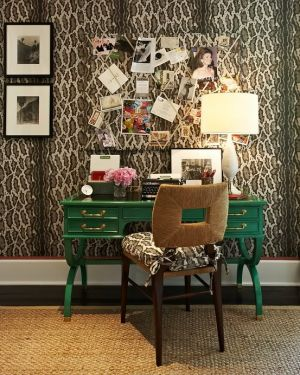 The colour green - myLusciousLife.com - home-office.jpg