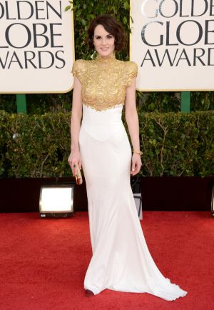 Golden Globes 2013 - Michelle Dockery in Alexander Vauthier