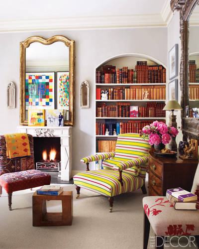 Book to buy a living space by kit kemp for Hotel elle decor