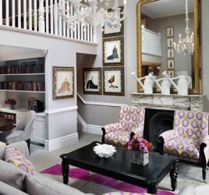 Covent-Garden-Loft-Suite-Lounge - London hip hotels - mylusciouslife