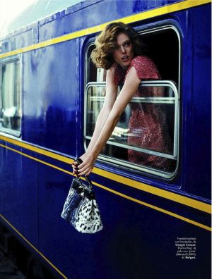 Coco Rocha by Xavi Gordo for Elle Spain September 2012