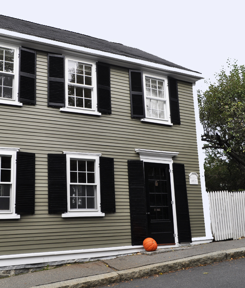 Stylish home black and white house exteriors - Paint for houses exterior image ...