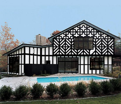 Brilliant Stylish Home Black And White House Exteriors Largest Home Design Picture Inspirations Pitcheantrous