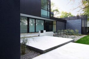 Patio-area-with-plants - mylusciouslife.com - black modern house.jpg