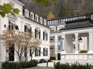 The Heidelberg Suites in Germany - traditional white exterior with black trim.jpg