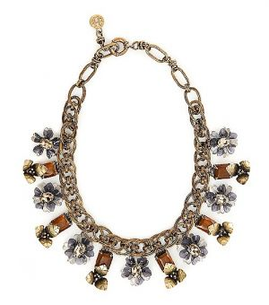 Buy Tory Burch online - Tory Burch Multi-Floral Necklace.jpg