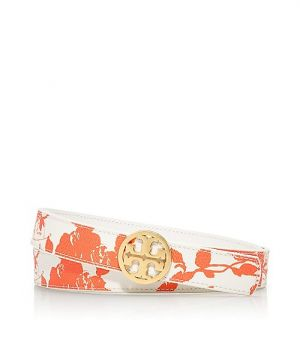 Buy Tory Burch online - Tory Burch Reversible Printed Logo Belt.jpg