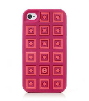 Buy Tory Burch online - Tory Burch Square Dots Silicone Case.jpg
