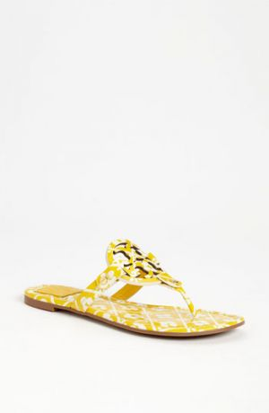 Shop shoes - Tory Burch Miller Sandal Cera Yellow Flowers 8 M.jpg