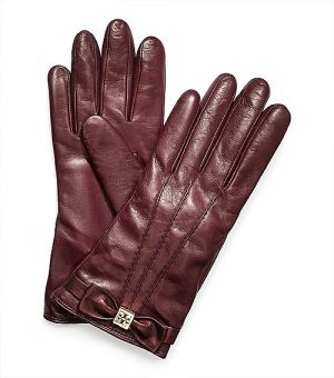 Website for online shopping - Tory Burch Bow Glove - brown.jpg