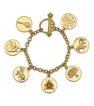 Website for online shopping - Tory Burch Buddy Charm Bracelet.jpg