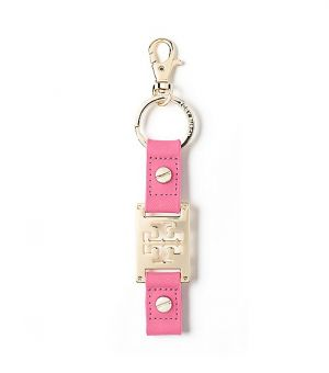 Website for online shopping - Tory Burch Saffiano Logo Keyfob.jpg
