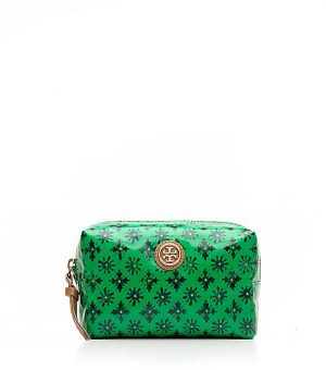 Where to buy Tory Burch online - Tory Burch Brigitte Cosmetic Case - green.jpg