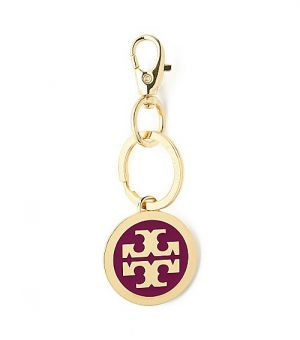 Where to buy Tory Burch online - Tory Burch Heirloom Enamel Logo Pendant Keyfob.jpg