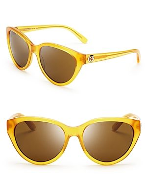 Where to buy Tory Burch online - Tory Burch Logo Cat Eye Sunglasses.jpg