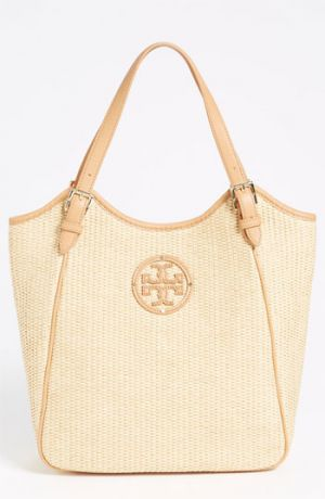 tory burch bags online sale - Tory Burch Small Slouchy Woven Tote.jpg