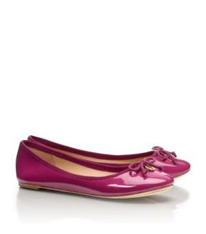 tory burch ballerina - Tory Burch shoes - chelsea BALLET FLAT - Fuschia.jpg