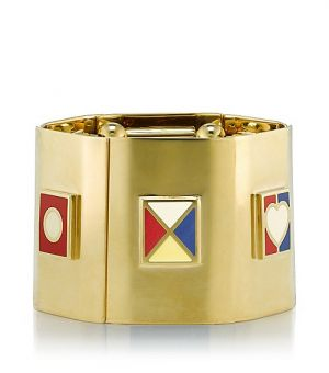 tory burch llc - Tory Burch Ahoy Flag Stretch Bracelet.jpg