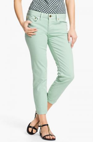 tory burch llc - Tory Burch Alexa Crop Skinny Stretch Jeans Seaglass Womens.jpg