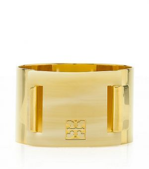 tory burch new york - Tory Burch Pinched Logo Clasp Bangle.jpg