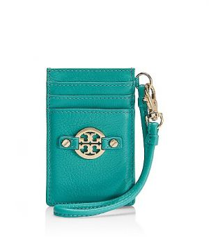 tory burch outlet online handbags - Tory Burch Amanda Card Wristlet - turquoise.jpg