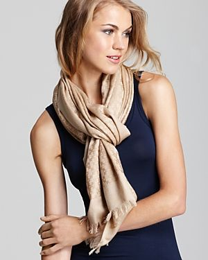 who is tory burch - Tory Burch All-Over T Jacquard Scarf.jpg