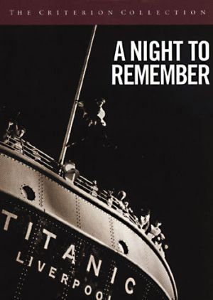A Night to Remember 1958 - book by by Walter Lord