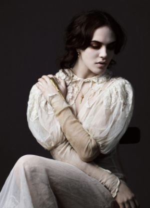 Jessica Brown Findlay - Dominic Jones Jewellery 2012.jpg
