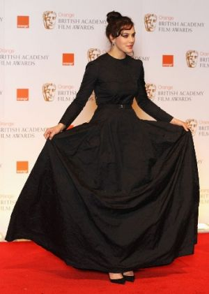 Jessica Brown-Findlay at the BAFTA Awards in London.jpg