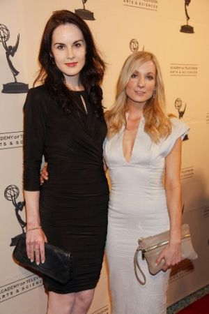 Michelle Dockery and Joanne Froggatt September 2011.jpg