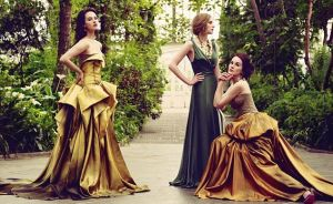 The Crawley Sisters - Downton Abbey photo - myLusciousLife.com - jason bell for vogue.jpg