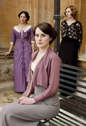 The Crawley Sisters - Downton Abbey photos - myLusciousLife.com - crawley sisters.jpg