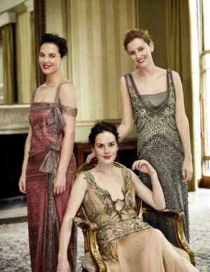 The Crawley Sisters - Downton Abbey pictures - myLusciousLife.com - uliweber-vogue.jpg