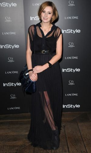 laura carmichael instyle event - The Crawley Sisters - Downton Abbey pictures - myLusciousLife.com.jpg