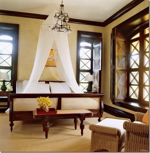 British Colonial Bedroom: INSPIRED BY THE BRITISH EMPIRE: Colonial-inspired House