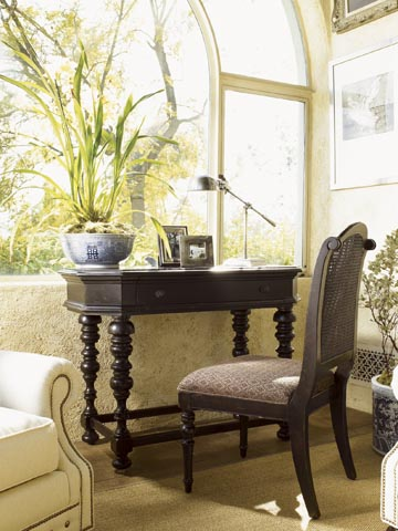 Combritish Colonial Home Decor : Colonial style decor - myLusciousLife.com - Adelaide Writing Desk.jpg