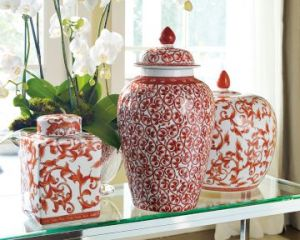 Colonial style decor - myLusciousLife.com - williams-Sonoma Home ginger jars.jpg
