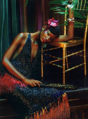 Chanel Iman Jourdan Dunn and Melodie Monrose by Emma Summerton for Vogue Italia.jpg