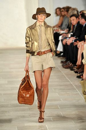 Inspired by desert fashion - myLusciousLife.com - Ralph Lauren spring 2009 safari.jpg