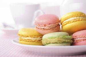 Luscious macarons