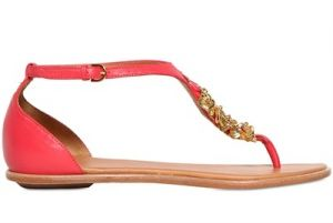 AERIN - LEATHER AND CHARM THONG FLATS.JPG