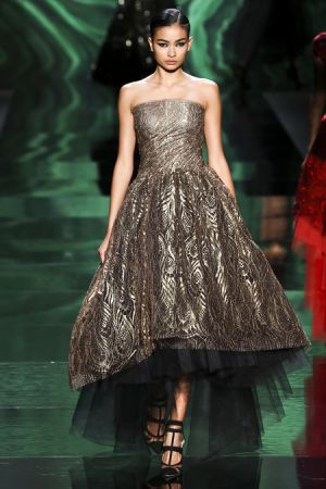 Monique Lhuillier Fall 2013 RTW collection