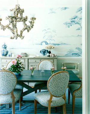 Luscious Style Chinoiserie Furniture Wallpaper Fabric And